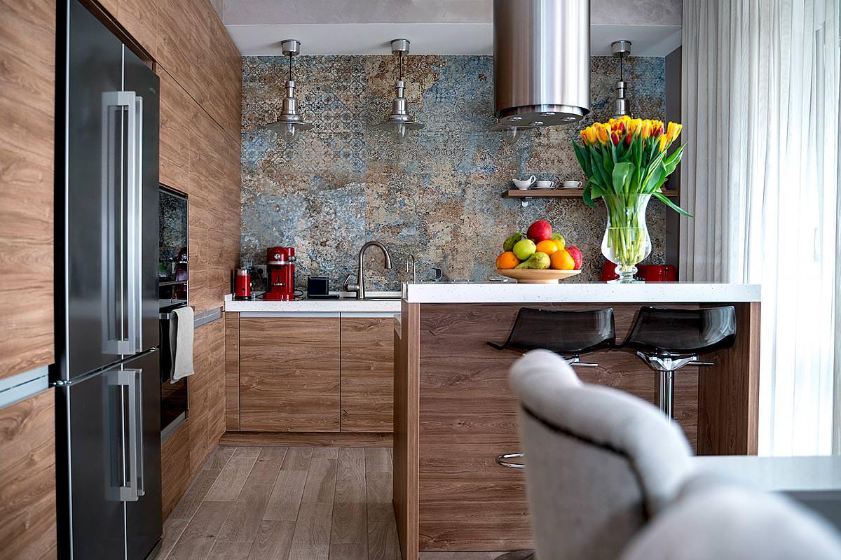 Дизайн интерьера Кухни общий вид