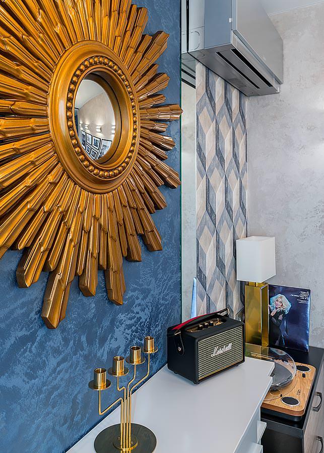Декоративные элементы в интерьере гостиной