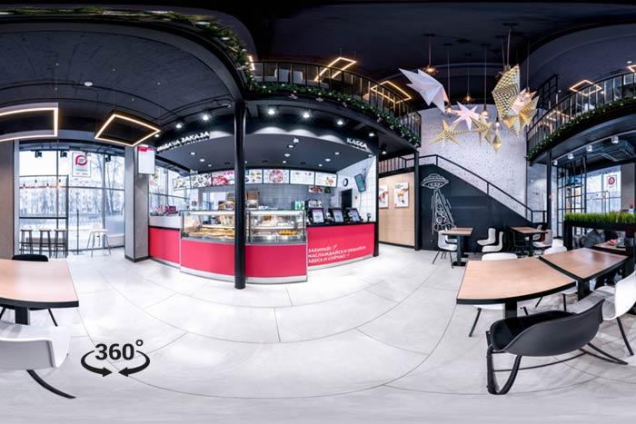 Баннер панорама 360 Интерактивного тура PiizzaMia