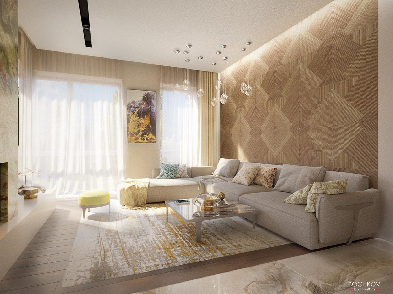 Интерьер гостинной комнаты | Космаково 5