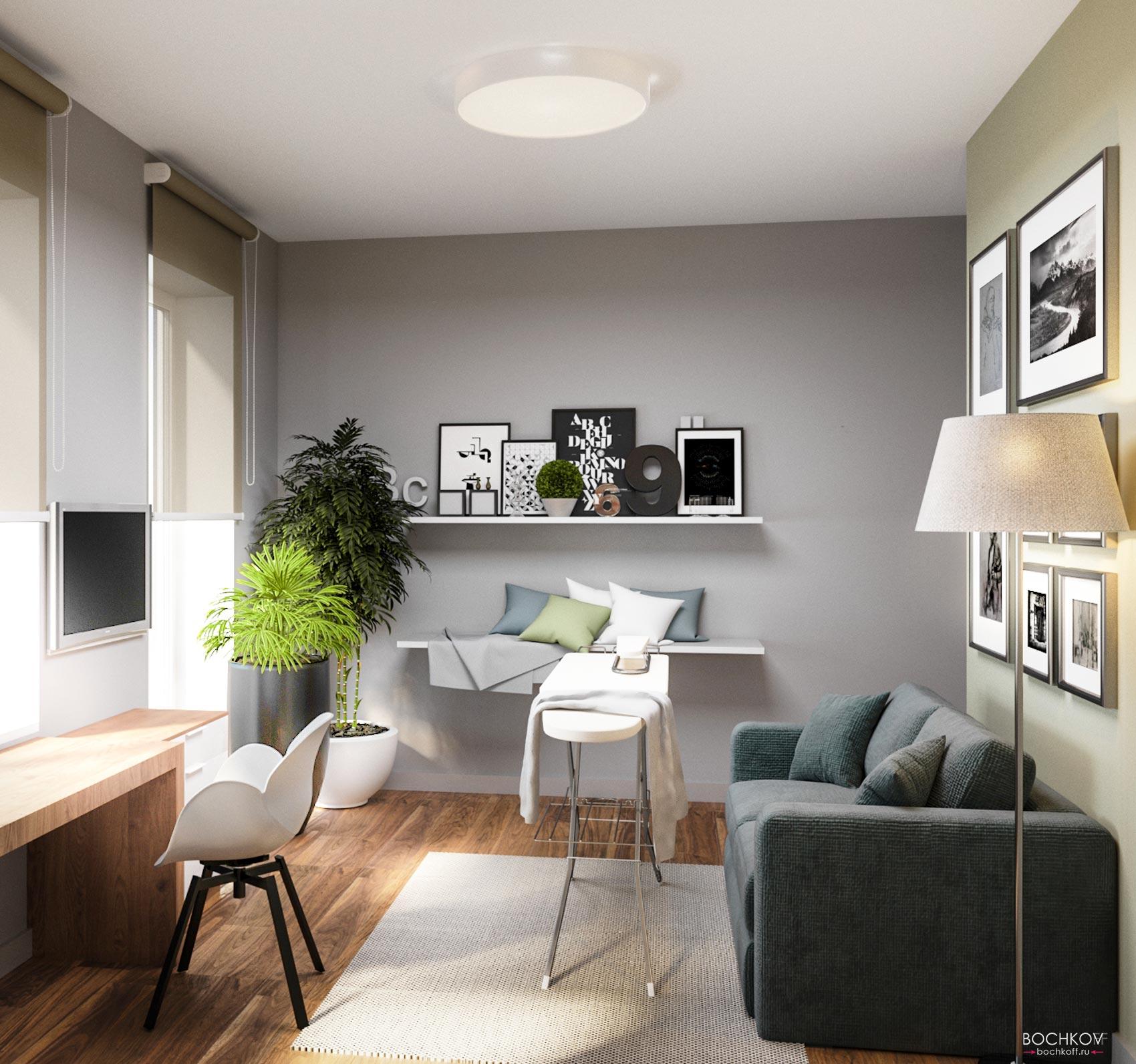 Интерьер хозяйственной комнаты | Космаково 5