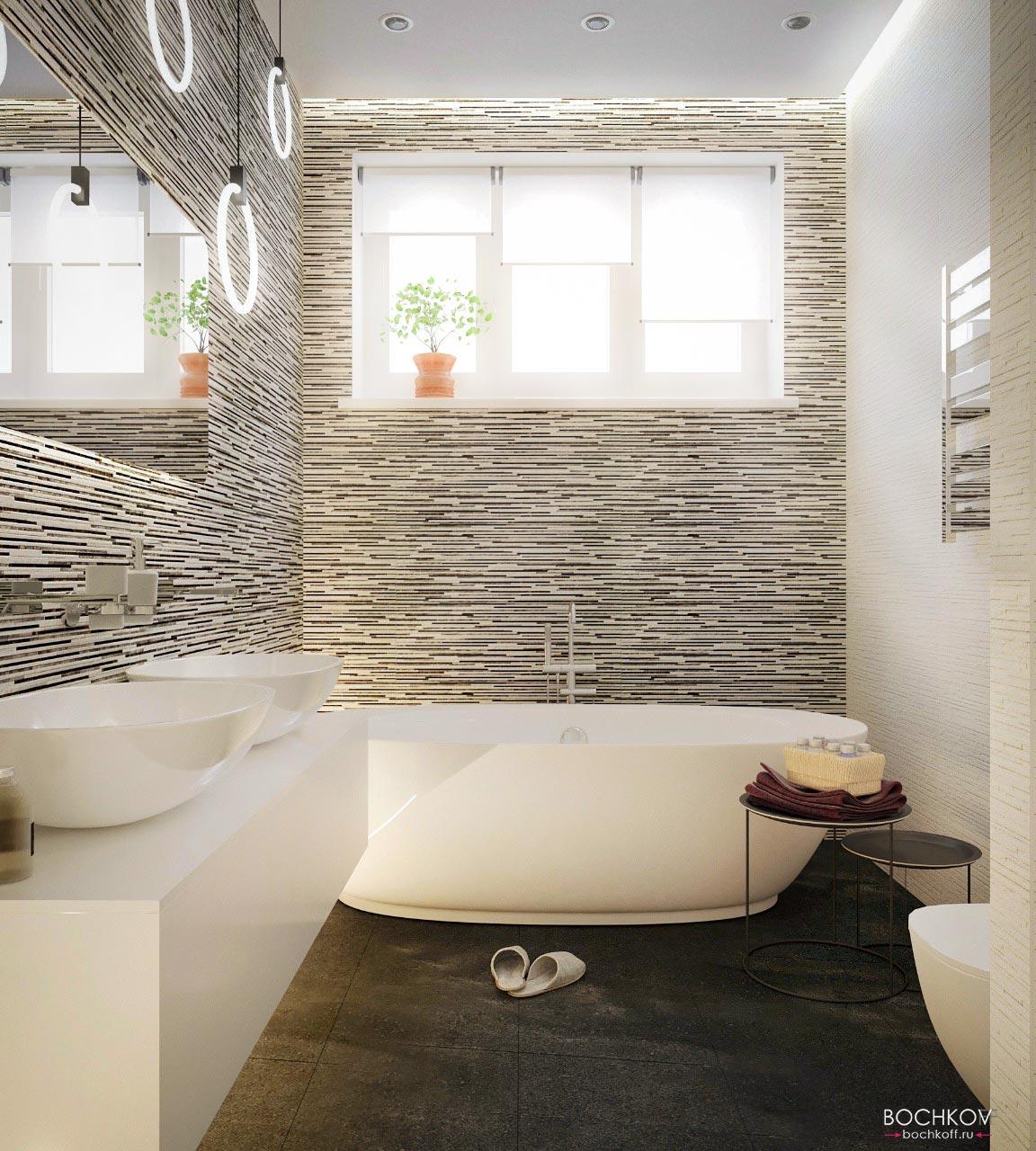 2 этаж Туалетная комната с ванной | Космаково 5