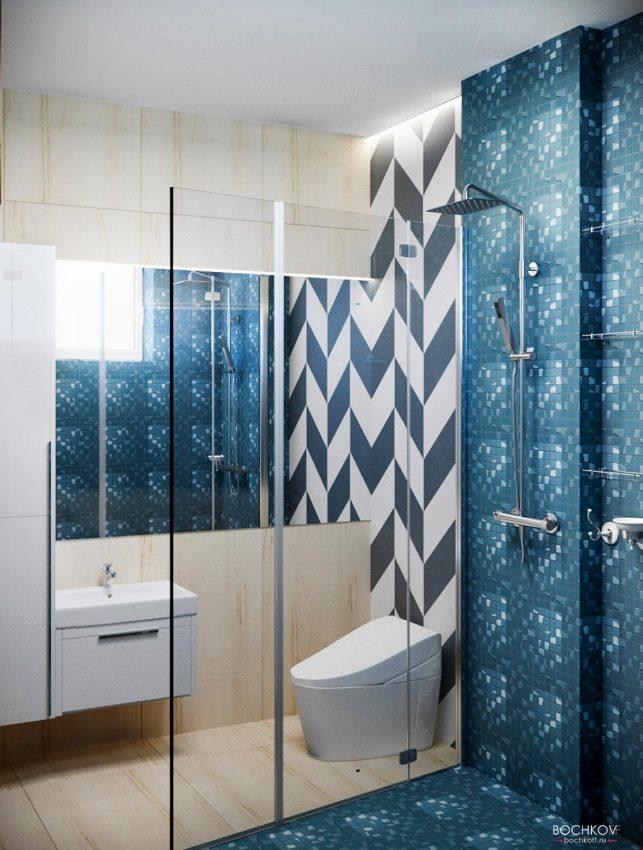 Туалетная комната с душевой | Космаково 5