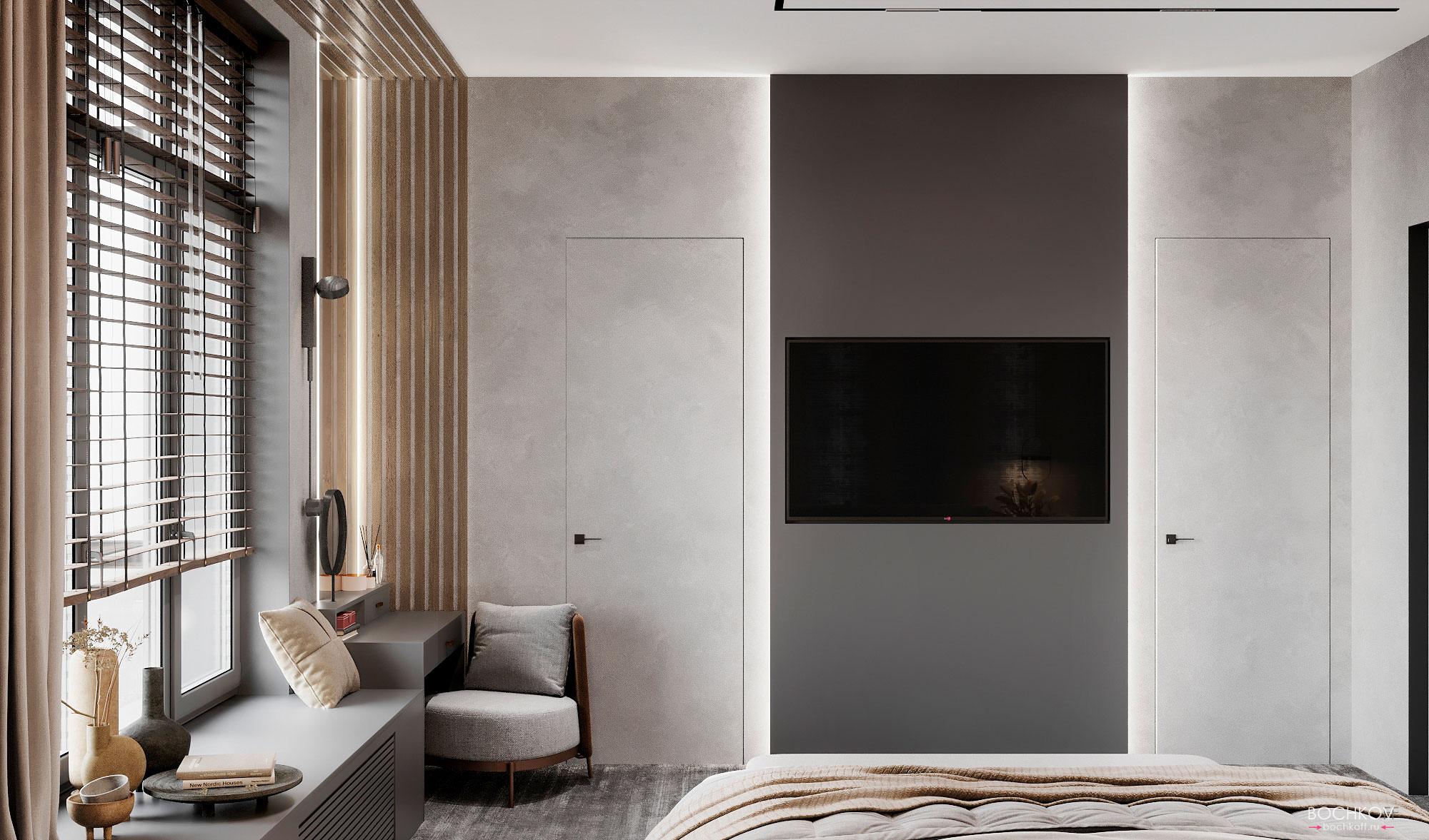 Спальная комната, вид 3, КД Ривьера