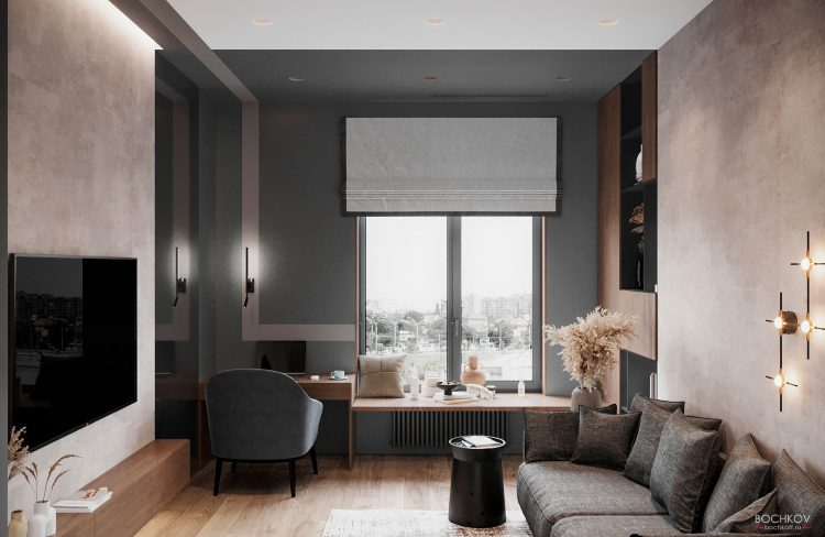 Гостевая комната, вид 1, КД Ривьера