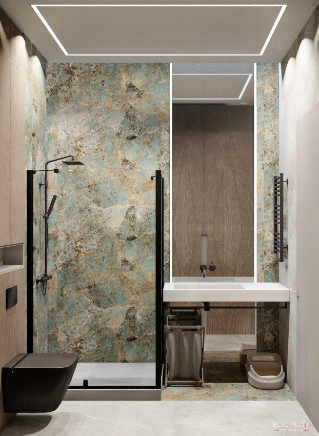 Ванная комната, вид 1, КД Ривьера