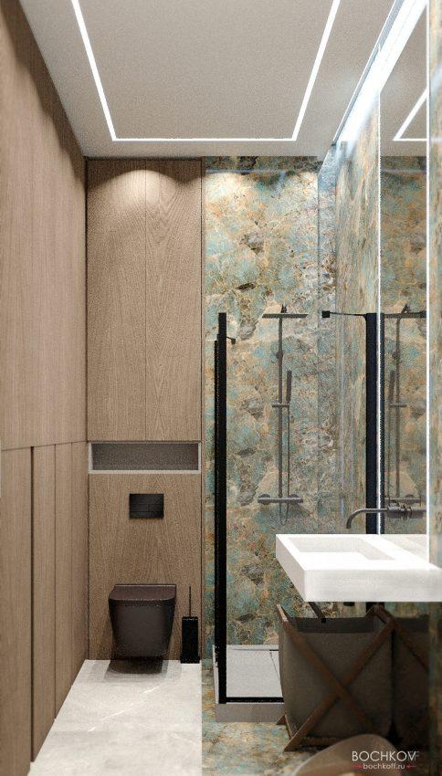Ванная комната, вид 2, КД Ривьера