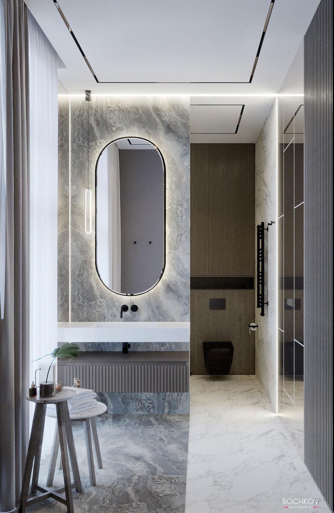 Ванная комната родителей, вид 2, КД Ривьера