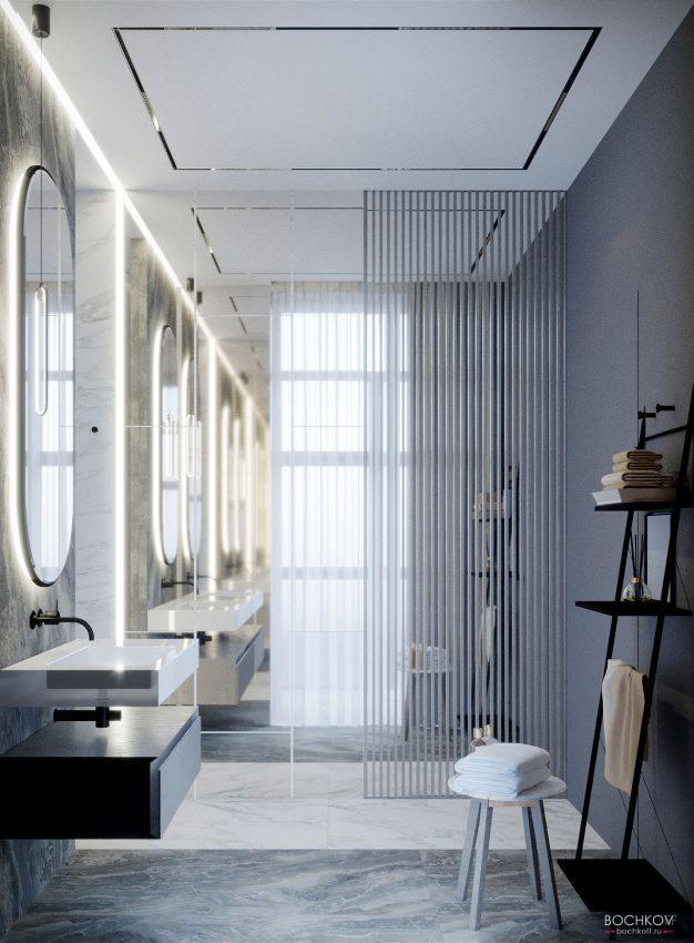 Ванная комната родителей, вид 3, КД Ривьера